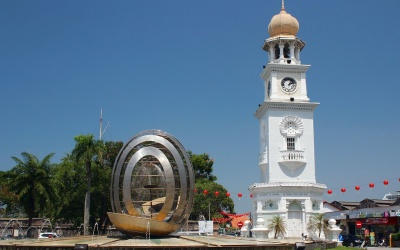 George Town (Penang): Queen Victoria Memorial Clock Tower