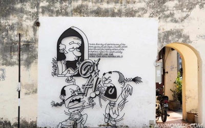 Quiet-Please-street-art-george-town-penang